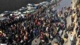 تصویری از اعتراضات مردم اصفهان در روز شنبه ۲۵ آبان ماه