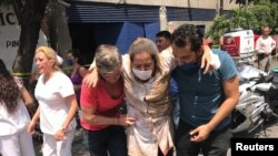 صدها نفر در زلزله روز سه شنبه مجروح شدند.