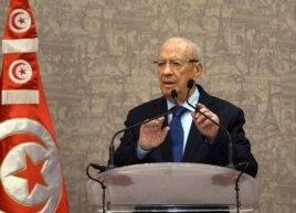 Tổng thống Tunisia Beji Caid Essebsi nói 'Tôi muốn người dân Tunisia hiểu rằng chúng ta đang có chiến tranh với bọn khủng bố'.