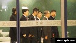 中國國家主席習近平的特使宋濤一行人在平壤進行訪問。