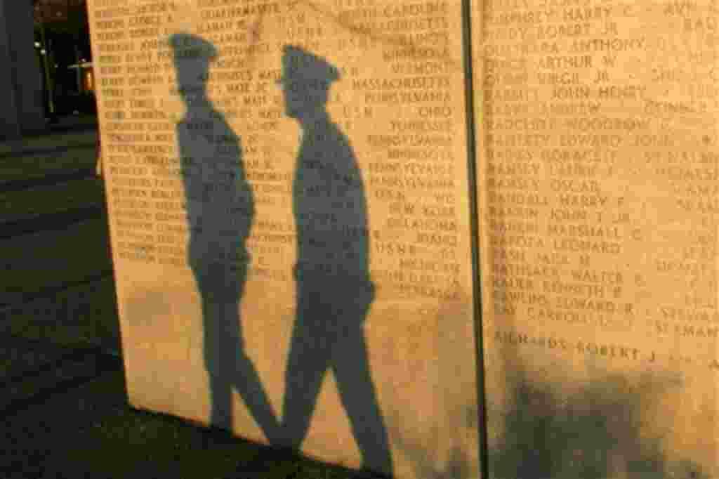 El monumento de los veteranos de la II Guerra Mundial fue inaugurado por el presidente John Kennedy en honor a los militares perdidos en las aguas occidentales del Atlántico durante la guerra.