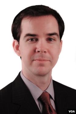 贝克特宗教自由基金的律师丹尼尔•布隆伯格(Daniel Blomberg) (VOA卫视 亚微)