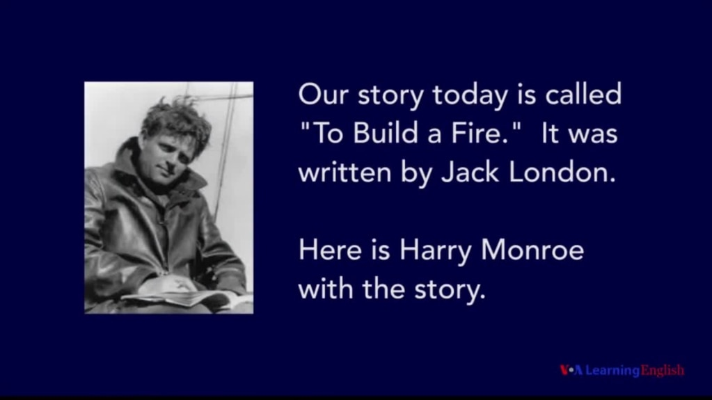 a literary analysis of to build a fire by jack london Name_____ date_____ to build a fire by jack london literary analysis: conflict, setting, irony.