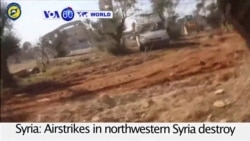 VOA60 World PM - Airstrikes in northwestern Syria destroy a hospital supported by Doctors Without Borders