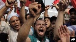 Եգիպտացիները աջակցում են Մոհամեդ Մորսիին