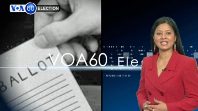 'VOA 60 Election' host Tahira Kibria.