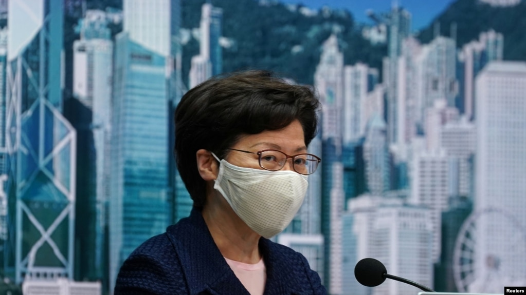 Hong Kong lideri Carrie Lam