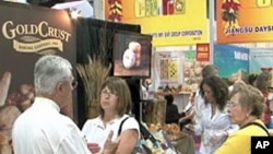 Visitors to the Fancy Food Show in Washington