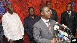 Le premier ministre ivoirien Guillame Soro, photo d'archives