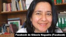Gláucia Nogueira, jornalista e investigadora brasileira