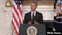 Tổng thống Obama nói rằng những phần tử hiếu chiến ISIL đe dọa người dân ở Iraq, Syria và vùng Trung Đông.