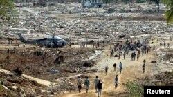 지난 2004년 쓰나미 피해를 입은 인도네시아의 한 지역. (자료사진)
