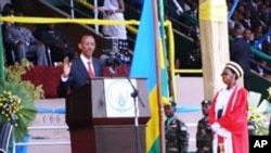 Perezida Paul Kagame arahirira kuyobora Abanyarwanda mu mwaka wa 2010