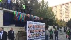 Milli Şuranın 9 noyabr mitinqində AXCP sədri Əli Kərimlinin çıxışı