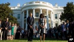 Minut ćutnje za žrtve terorističkih napada ispred Bele kuće