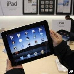 l'Ipad, un des gadgets très recherchés