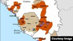 La fièvre à virus Ebola se répand en Afrique de l'Ouest