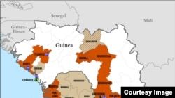 Ebola spreads in West Africa