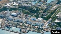 지난 8월 상공에서 촬영한 후쿠시마 제1원자력발전소. (자료사진)