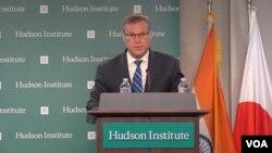 Tiến Sĩ Patrick Cronin – Asia Pacific Security Chair, Hudson Institute. (Photo courtesy of Doanh Vu)