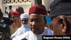 Le président du Niger Mahamadou Issoufou