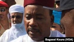 Shugaban kasar Nijar Mahamadou Issoufou