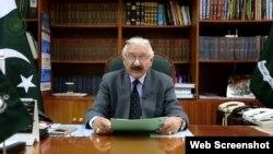 چیف الیکشن کمشنر سردار رضا خان، فائل فوٹو