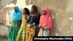 برونڈی میں انسانی اسمگلنگ کا نشانہ بننے والی چند عورتیں( 7 جون 2016)