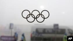 지난 17일 러시아 소치 동계올림픽 경기장 풍경.