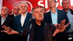 ARHIVA - Milo Đukanović u Podgorici 17. oktobra 2016.