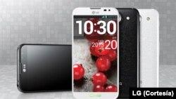 تلفن های جدید الجی دو صفحه نمایش دارد