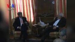 جان کری برای دیدار با ظریف وارد محل اقامت سفیر ایران در سازمان ملل شد