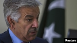 خواجه آصف گفته است که تعهد پاکستان به مبارزه با تروریزم بی همتا و خلل ناپذیر است.