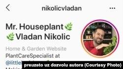 Instagram profil Vladana Nikolića ima 52 000 pratilaca