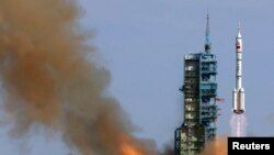 China Launches Manned Space Mission