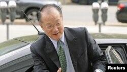 Mkuu mpya wa Benki ya Dunia Jim Yong Kim mjini Washington