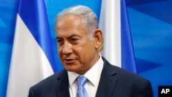 Le Premier ministre israélien Benjamin Netanyahu à Jérusalem,3 septembre 2018.