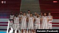 Equipa de basquetebol do Zamalek do Egipto pronta para a BAL