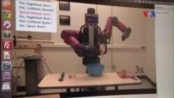 Robot học nấu ăn bằng cách xem video