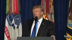 Excerpts of Trump US-Afghanistan Strategy Speech
