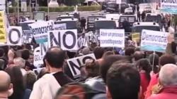 數萬西班牙人在馬德里抗議緊縮措施
