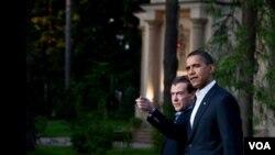 El acuerdo fue firmado entre el presidente de EE.UU., Barack Obama, y el presidente ruso, Dmitri Medvedev, en abril de 2010.