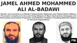 미 연방수사국(FBI)이 제작한 알카에다 테러리스트 자말 알바다위 수배 전단. 지난 2000년 미 군함에 대한 자폭테러 주모자인 알바다위는 최근 예멘에서 미군의 공습으로 사망한 것으로 알려졌다.