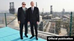 İlham Əliyev və Rəcəb Tayyib Ərdoğan