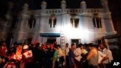 Бирма, Рангун, 2 апреля 2013г.