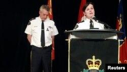 """""""Los residentes del norte de Moncton pueden ahora salir de sus casas"""", dijo la policía de Canadá."""
