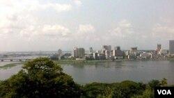 Vue d'Abidjan