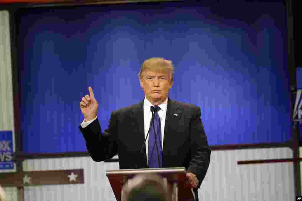 Le milliardaire Donald Trump, candidat républicain.