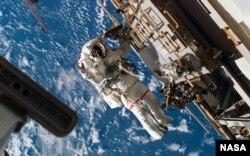 国际空间站。(美国航空航天局网站)