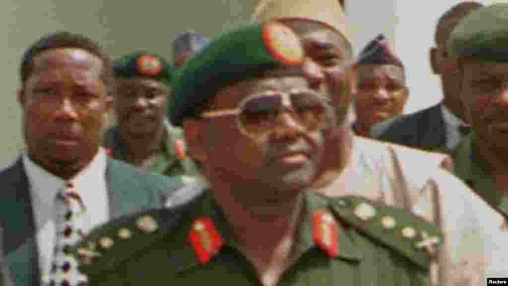 Hamza al-Mustapha was the Chief Security Officer for Nigerian military ruler General Sani Abacha.